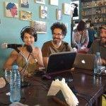 Mex Urtizberea desde el Café de los Patriotas
